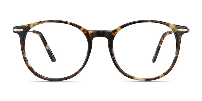 Quill Tortoise Acetate-metal Eyeglass Frames from EyeBuyDirect