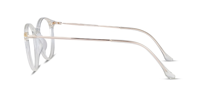 Amity Clear Plastic-metal Eyeglass Frames from EyeBuyDirect