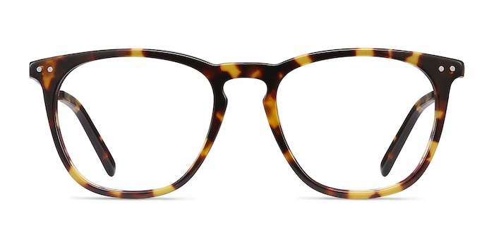 Distance Tortoise Acetate-metal Eyeglass Frames from EyeBuyDirect