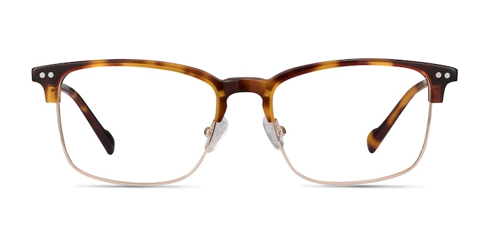 Explorer Tortoise Acetate-metal Eyeglass Frames from EyeBuyDirect