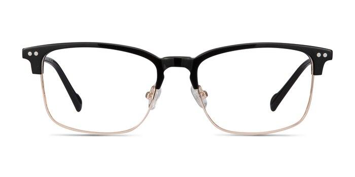 Explorer Black Acetate-metal Eyeglass Frames from EyeBuyDirect