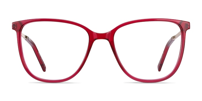 Aroma Raspberry Acetate-metal Eyeglass Frames from EyeBuyDirect