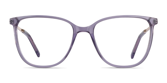 Aroma Purple Acetate-metal Eyeglass Frames from EyeBuyDirect