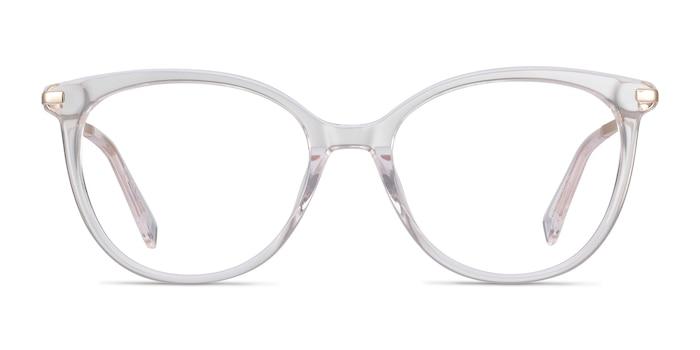 Attitude Clear Acetate-metal Eyeglass Frames from EyeBuyDirect