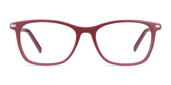 Field Pink Acetate Eyeglass Frames from EyeBuyDirect