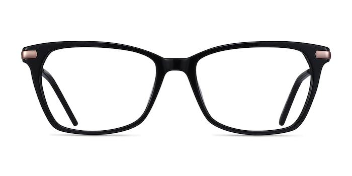 Forward Black Acetate-metal Eyeglass Frames from EyeBuyDirect