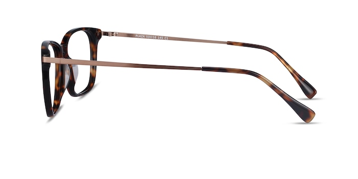 Plaza Tortoise Acetate-metal Eyeglass Frames from EyeBuyDirect