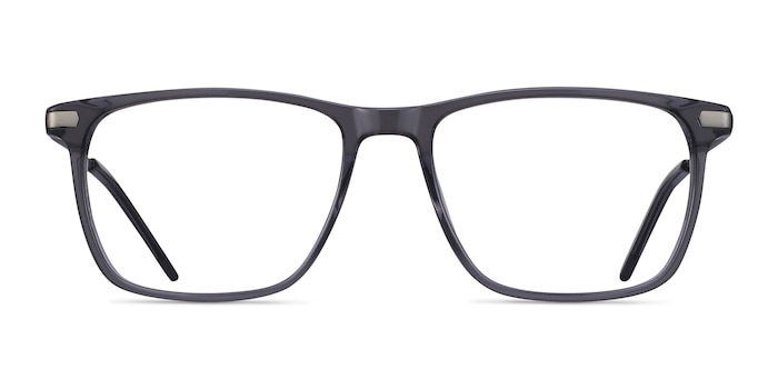 Envision Gray Acetate-metal Eyeglass Frames from EyeBuyDirect