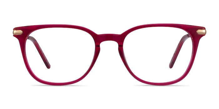 Therefore Raspberry Acetate-metal Eyeglass Frames from EyeBuyDirect