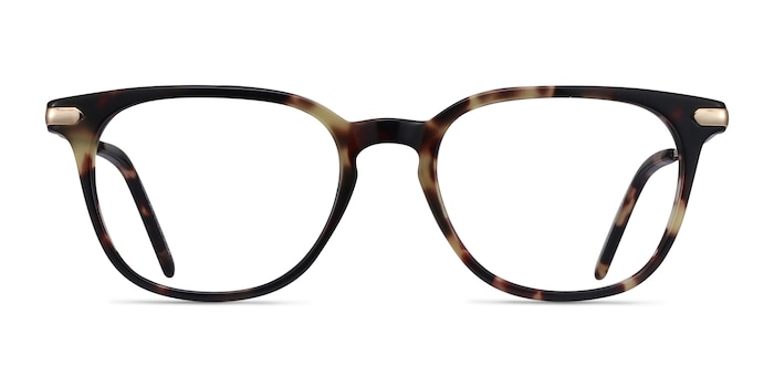Therefore Tortoise Acetate-metal Eyeglass Frames from EyeBuyDirect