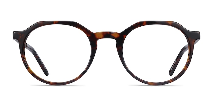 The Cycle Dark Tortoise Acetate-metal Eyeglass Frames from EyeBuyDirect