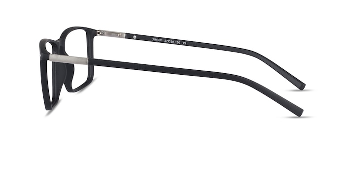 Simon Black Plastic-metal Eyeglass Frames from EyeBuyDirect