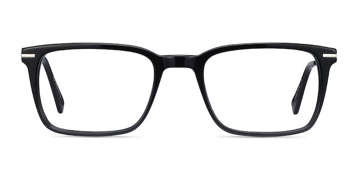 Nox Black Acetate-metal Eyeglass Frames from EyeBuyDirect