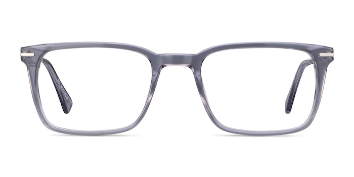 Nox Gray Acetate-metal Eyeglass Frames from EyeBuyDirect