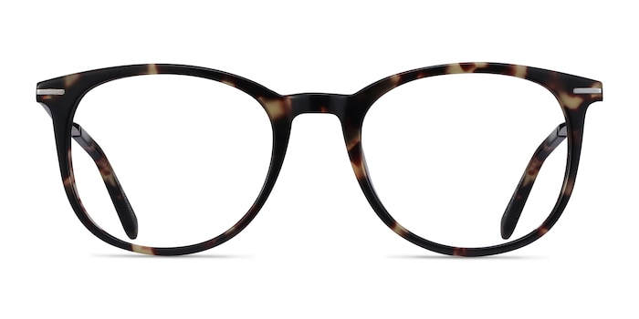 Ninah Tortoise Acetate-metal Eyeglass Frames from EyeBuyDirect
