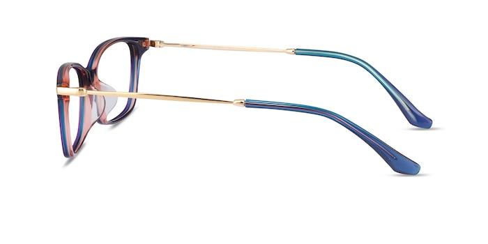 Vanda Blue Acetate-metal Eyeglass Frames from EyeBuyDirect