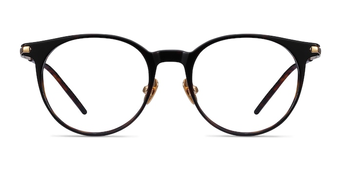 Vast Tortoise Acetate-metal Eyeglass Frames from EyeBuyDirect