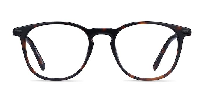 Villeneuve Dark Tortoise Acetate-metal Eyeglass Frames from EyeBuyDirect
