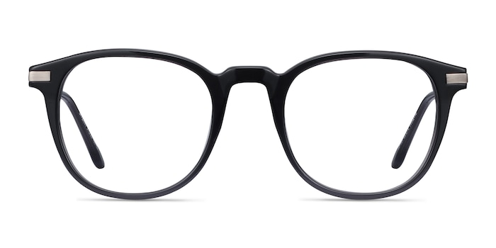 Giverny Gray Acetate-metal Eyeglass Frames from EyeBuyDirect