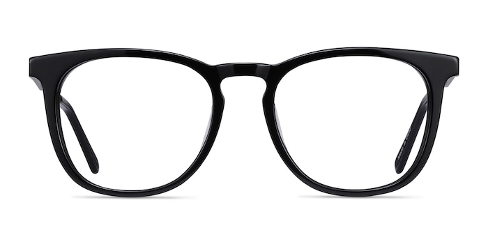 Vibes Black Acetate-metal Eyeglass Frames from EyeBuyDirect