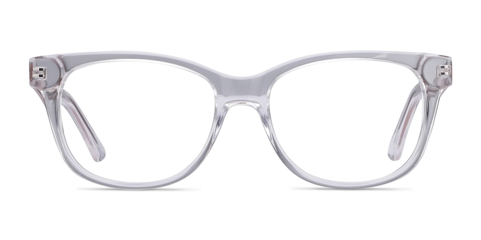 Story Clear Acetate-metal Eyeglass Frames from EyeBuyDirect