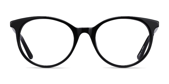 Solver Black Acetate-metal Eyeglass Frames from EyeBuyDirect