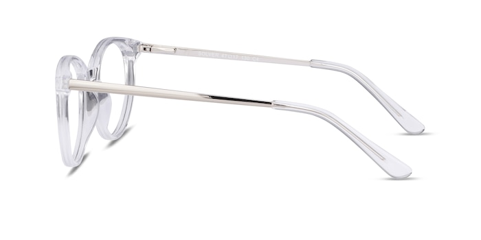 Solver Clear Acetate-metal Eyeglass Frames from EyeBuyDirect