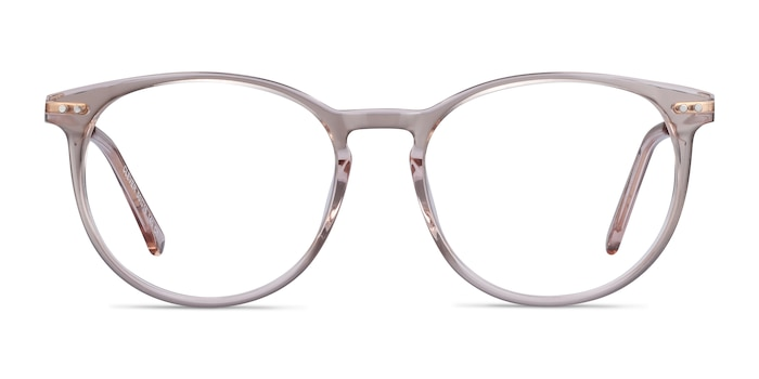 Clever Pink Acetate-metal Eyeglass Frames from EyeBuyDirect