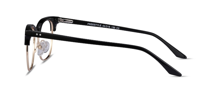 Freestyle Black Acetate-metal Eyeglass Frames from EyeBuyDirect
