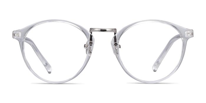 Small Chillax Transparent Plastic-metal Montures de Lunette de vue d'EyeBuyDirect