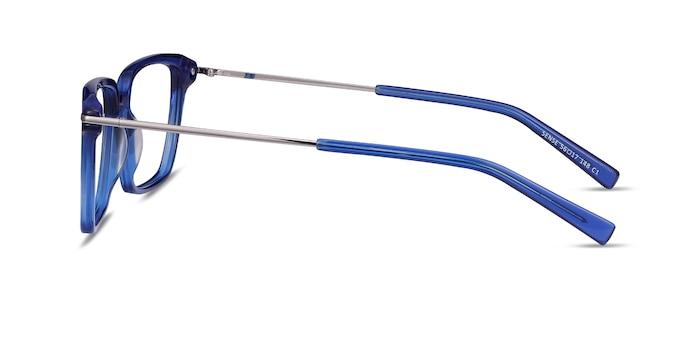 Sense Bleu Acetate-metal Montures de Lunette de vue d'EyeBuyDirect