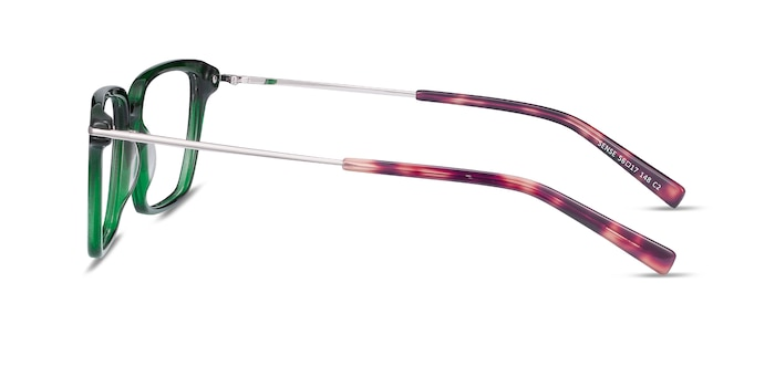 Sense Green Acetate-metal Eyeglass Frames from EyeBuyDirect