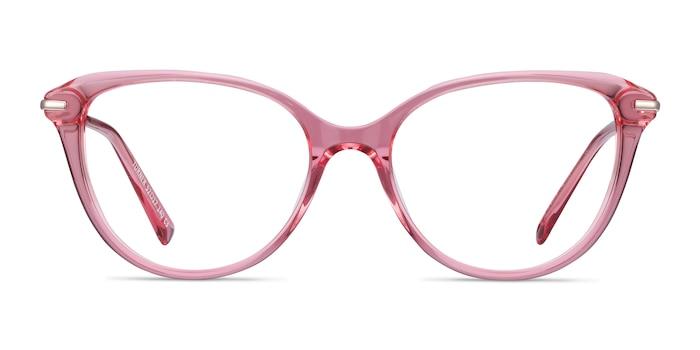 Turner Clear Pink Acetate-metal Eyeglass Frames from EyeBuyDirect