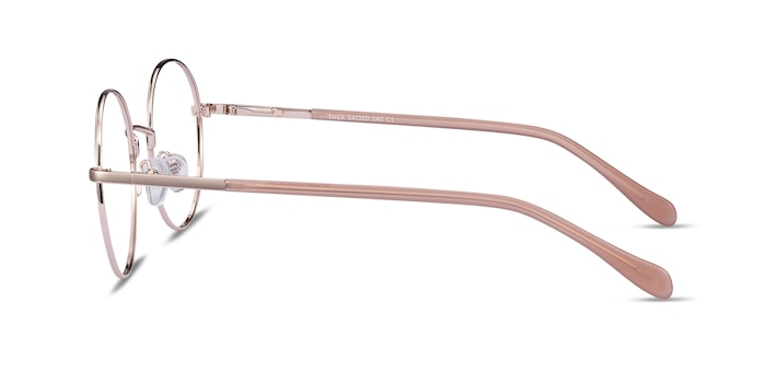 Thea Rose Gold Acetate-metal Eyeglass Frames from EyeBuyDirect