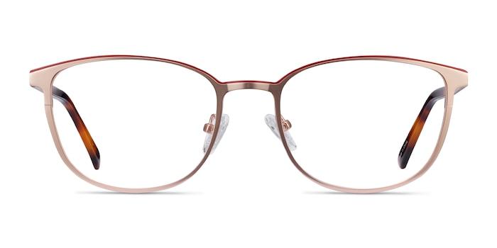 Guide Rose Gold Acetate-metal Eyeglass Frames from EyeBuyDirect