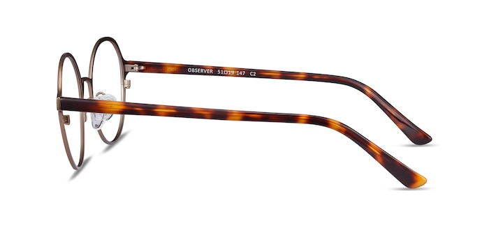 Observer Bronze Acetate-metal Eyeglass Frames from EyeBuyDirect