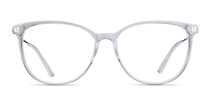 Nebulous Clear Acetate-metal Eyeglass Frames from EyeBuyDirect