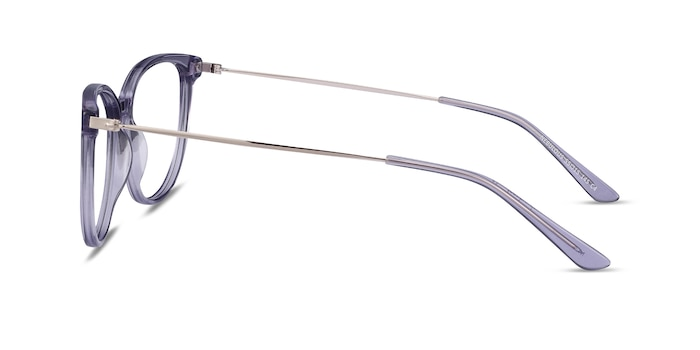Nebulous Clear Purple Acetate-metal Eyeglass Frames from EyeBuyDirect