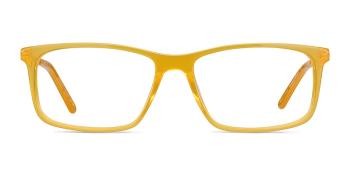 Marvel Yellow Acetate-metal Eyeglass Frames from EyeBuyDirect