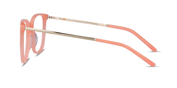Aroma Coral Acetate-metal Eyeglass Frames from EyeBuyDirect
