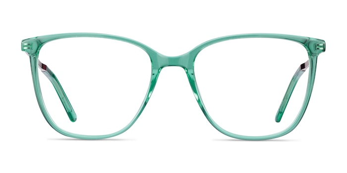 Aroma Emerald Green Acetate-metal Eyeglass Frames from EyeBuyDirect