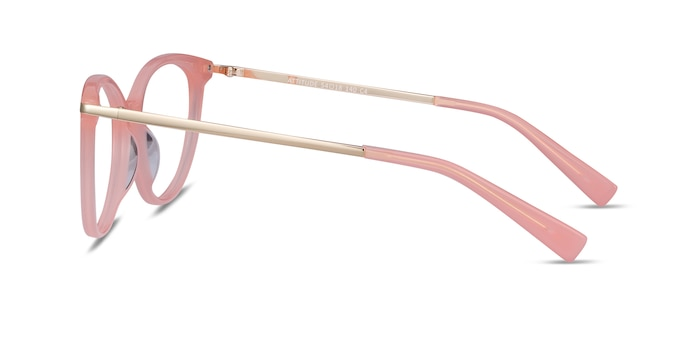 Attitude Coral Acetate-metal Eyeglass Frames from EyeBuyDirect