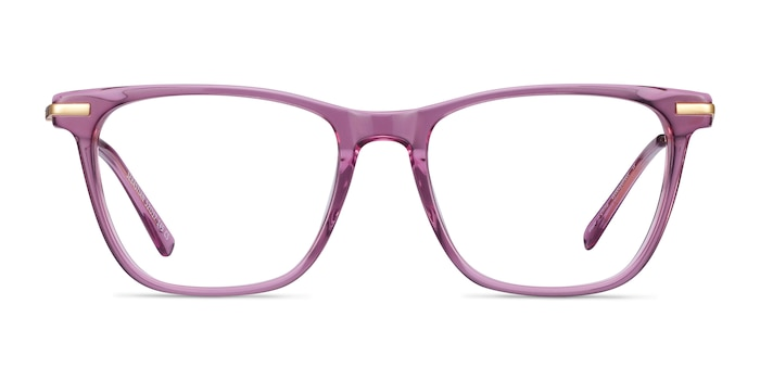 Sebastian Purple Acetate-metal Eyeglass Frames from EyeBuyDirect