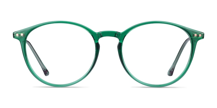Amity Emerald Green Plastic-metal Eyeglass Frames from EyeBuyDirect