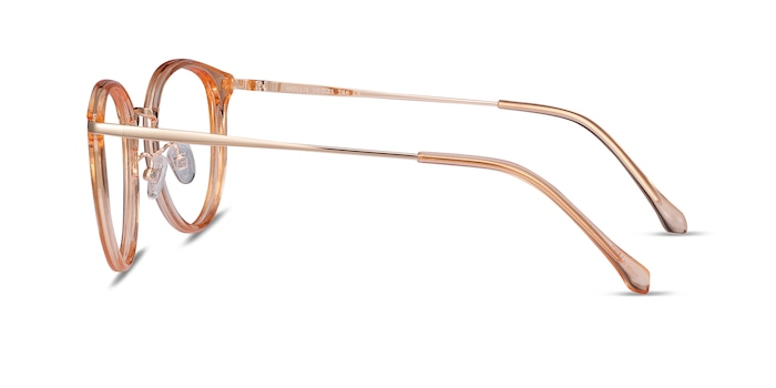 Hollie Clear Melon Plastic-metal Eyeglass Frames from EyeBuyDirect