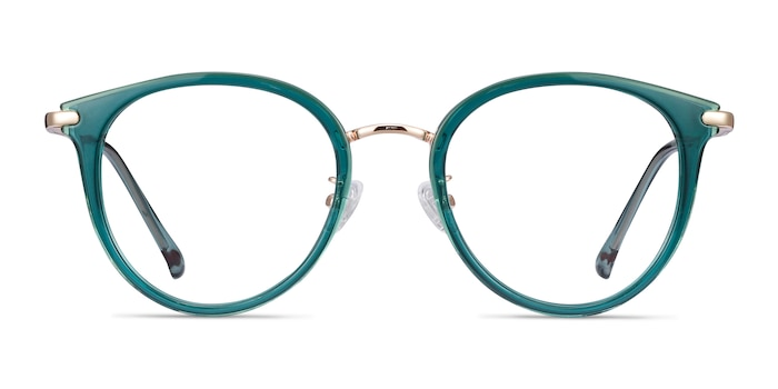 Hollie Teal Plastic-metal Eyeglass Frames from EyeBuyDirect