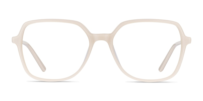 Lenny Cream Acetate-metal Eyeglass Frames from EyeBuyDirect