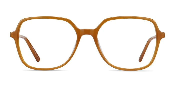 Lenny Mellow Yellow Acetate-metal Eyeglass Frames from EyeBuyDirect