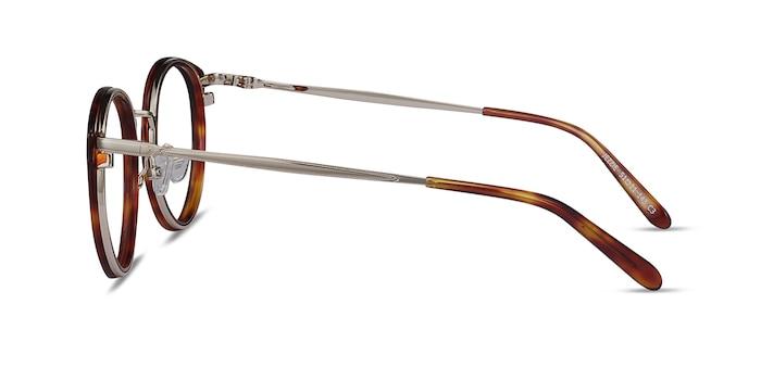 Jezzie Tortoise & Gold Acetate-metal Eyeglass Frames from EyeBuyDirect