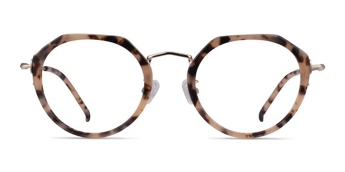 Claire Ivory Tortoise Acetate Eyeglass Frames from EyeBuyDirect